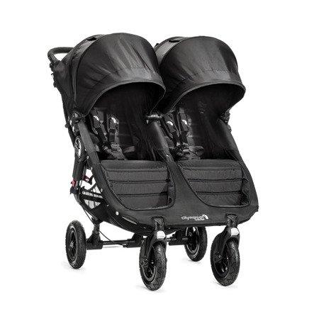 Wózek CITY MINI DOUBLE GT BLACK/BLACK 16410 Baby Jogger+pałąk