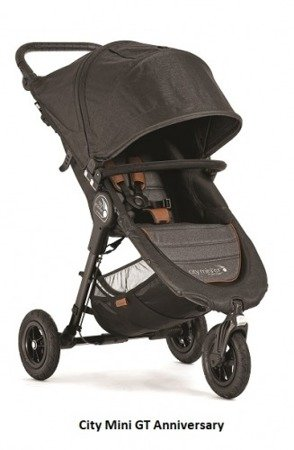 Wózek CITY MINI GT SINGLE ANNIVERSARY Baby Jogger+pałąk+folia