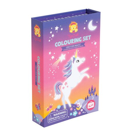 Zestaw plastyczny do kolorowania: Magiczne Jednorożce